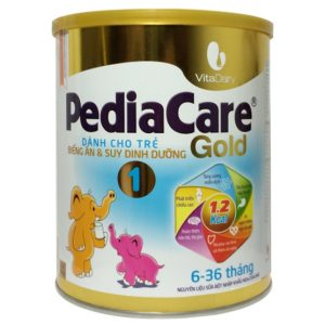 Sữa PediaCare Gold 1 chính hãng (Hộp 900g - Trẻ từ 6 - 36 tháng tuổi)