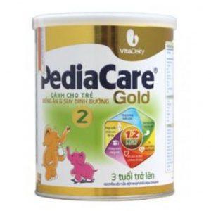 Sữa PediaCare Gold 2 chính hãng (Hộp 900g - Trẻ trên 3 tuổi)