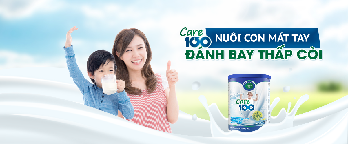 Sữa Nutricare Banner