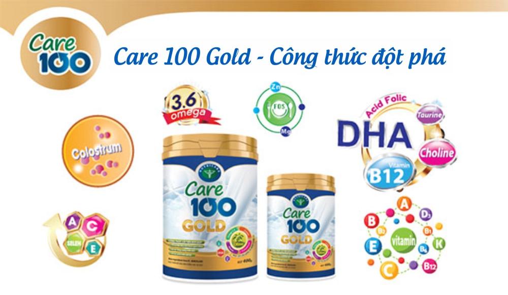 Care 100 Gold - Công thức đột phá