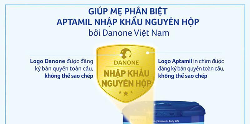 Phân biệt sữa Aptamil nhập khẩu & Sữa Aptamil xách tay | Shopsua.vn