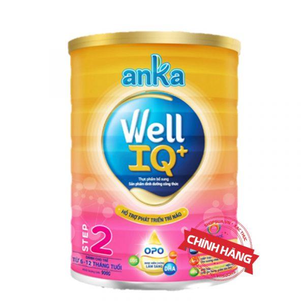 Sữa Anka Well IQ+ Step 1 (Hộp 900g) nhập khẩu chính hãng cho trẻ từ 6 - 12 tháng