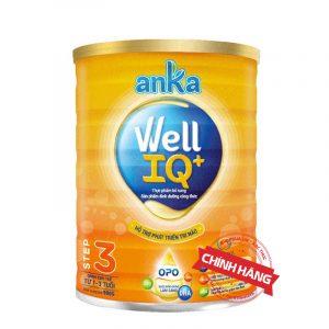 Sữa Anka Well IQ+ Step 1 (Hộp 900g) nhập khẩu chính hãng cho trẻ từ 1 - 3 tuổi