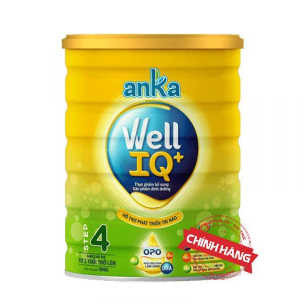 Sữa Anka Well IQ+ Step 4 (Hộp 900g) nhập khẩu chính hãng cho trẻ từ 4 - 6 tuổi