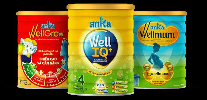 Sản phẩm sữa Anka nhập khẩu chính hãng | Shopsua.vn