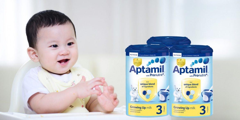 Sữa Aptamil cho bé và những điều mẹ cần phải biết | Shopsua.vn