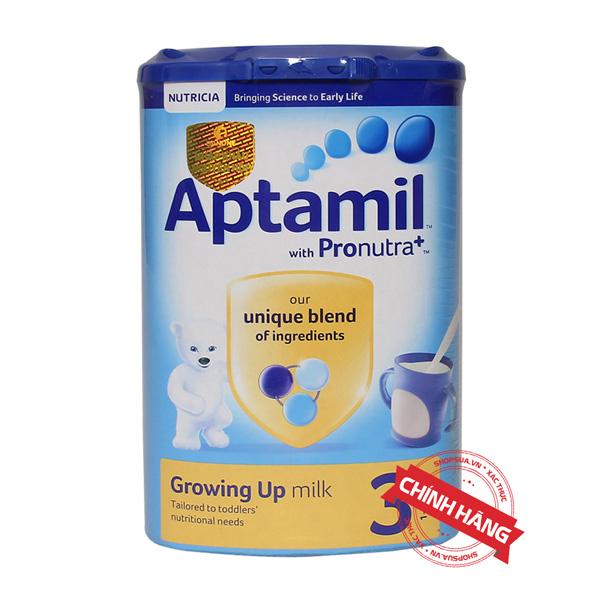 Sữa Aptamil số 3 (Anh - 900G) nhập khẩu chính hãng | Shopsua.vn