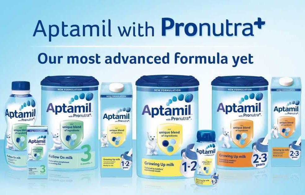 Sữa Aptamil nhập khẩu