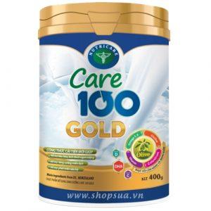 Sữa Care 100 Gold (Hộp 400g) chính hãng cho trẻ từ 1 - 10 tuổi | Shopsua.vn