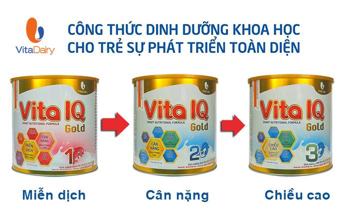 Sữa Vita IQ Gold