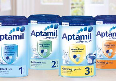 Thắc mắc & nhận xét của các bà mẹ khi cho con dùng sữa Aptamil | Shopsua.vn