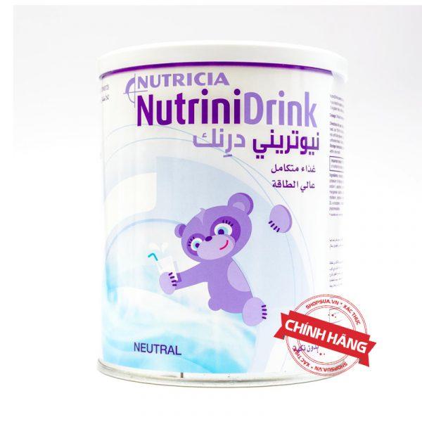 Sữa NutriniDrink Neutral (trẻ trên 1 tuổi) nhập khẩu chính hãng từ Đức | Shopsua.vn