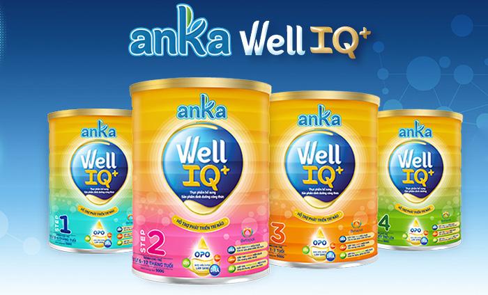 Anka Well IQ+ - Hấp thu dễ dàng, thông minh khỏe mạnh | Shopsua.vn