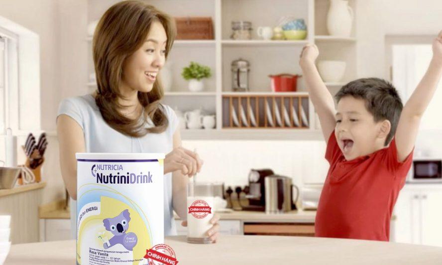 Sữa NutriniDrink nguồn dinh dưỡng hoàn hảo cho trẻ em Việt | Shopsua.vn