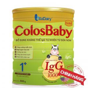 Sữa non ColosBaby Gold 1+ (hộp 800g) chính hãng cho trẻ từ 12 - 24 tháng tuổi