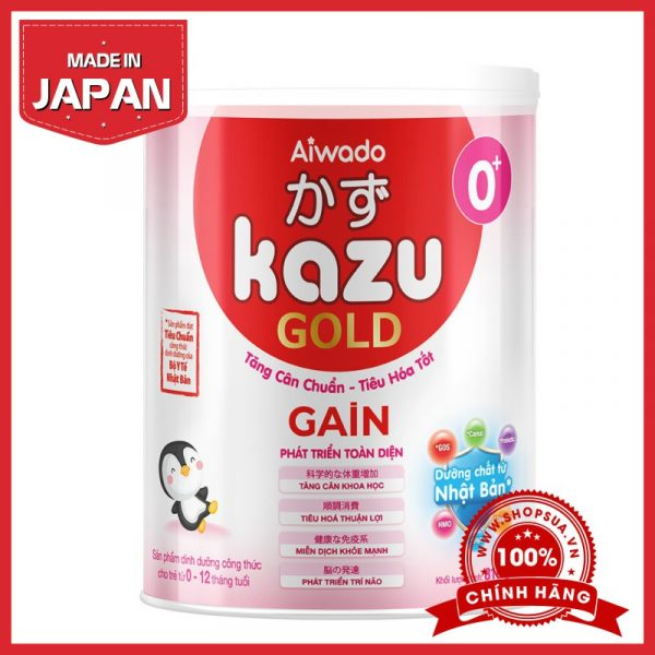 Sữa Kazu Gain Gold 0+