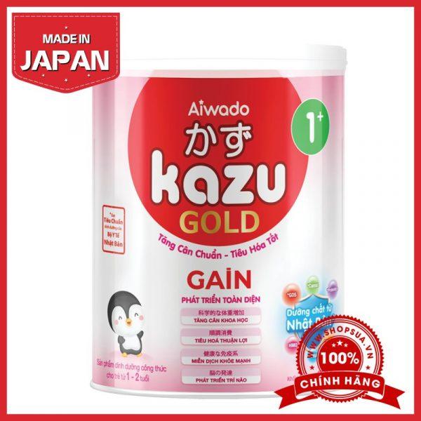 Sữa Kazu Gain Gold 1+